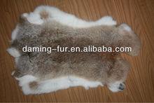 top grade tanned coyote color rabbit pelt rabbit hide rabbit skin