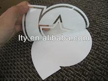 mini football helmet clear decals(M-A264)