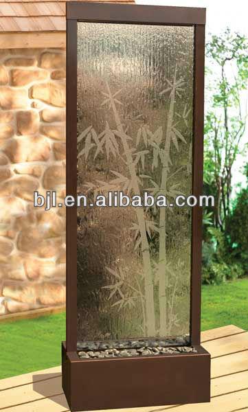 Bambou Cascade D Coration Int Rieure Avec Sol En Int Rieur Fontaine D 39 Eau Autres D Cors Maison