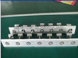 inter clamp aluminum solar clamp solar module clamp