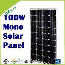 100W mono solar panel price,100W solar moudles.100W pv solar panel