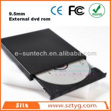 ECD011DW 9.5mm Slim Laptop Portable USB2.0 External Optical Drive ,External USB Tray-load DVD ROM Writer