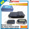Point car alarm systems A92 russian version 12v engine starter solenoid security systme