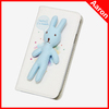 3D Cute Rabbit Leather Back Case For Samsung Galaxy Note3 Folio Case