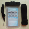 china supplier Compass style waterproof speaker pouch for sony xperia case back cover in clear pvc