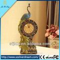 clásico reloj de la decoración del hogar vintage reloj de mesa