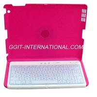 Removable Wireless Bluetooth Removable Wireless Bluetooth Keyboard 360 degree Hard Case Cover for iPad