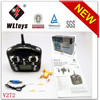 2014 newest toy WL V272 smallest 2.4G 4 channel nano rc quad copter with big transmitter RTF