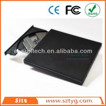 ECD011DW New Product Laptop Portable USB2.0 External Optical Drive ,External USB Tray-load DVD ROM / DVD Writer
