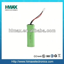 NiMH 4.8V high capacity power tool battery pack