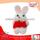 wholesale pet supplies/rabbit fur cat toy/cute cat plush toy