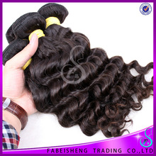 Factory Wholesale Human Hair Remy Wavy charming hair extension
