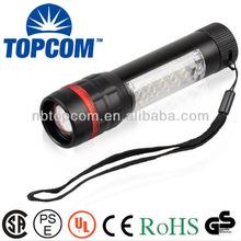 wall mounted emergency flashlight