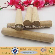 120mm length ash wood round stick
