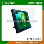 "hot sell 4:3 resistive touch screen 12"" lcd monitor vga"