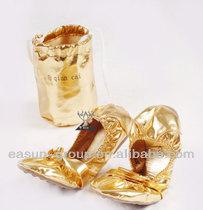 soft foldling dance shoes / China manufacturer