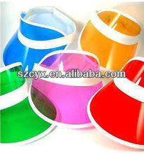 plastic sun visor cap wholesale