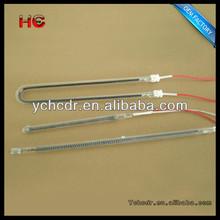 u bend quartz glass quartz glass infrared heater lamp tube