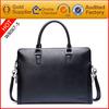 Customized men leather executive bags high quality leather handbags custom logo