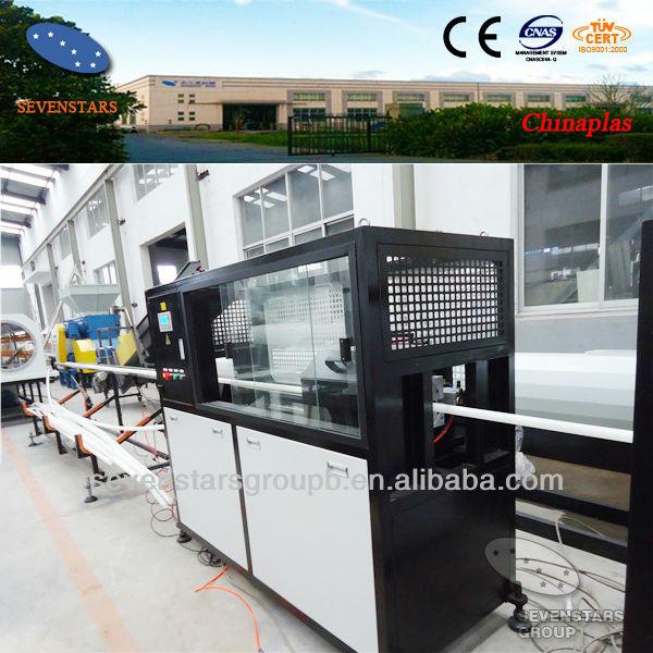 ABB invertor control SUS 304 used pvc garden pipe making machine