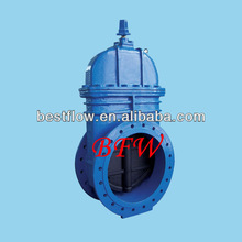 High quality Ductile iron AWWA C509/BS5163/DIN3352 stem gate valve