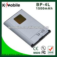 3.7v 1500mah Replacement Bp-4l Battery For Nokia E52 E55 E63 E71 E72 E90