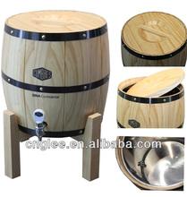 Barato aço inoxidável barril de cerveja, Barril de madeira