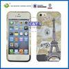 C&T 2014 fashion Paris style custom tpu case for iphone 5