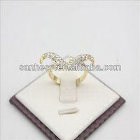 Fashion diamond ring beard