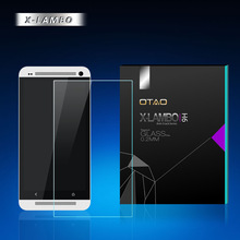 anti shock tempered glass screen protector for htc one made by mobile screen protector machine