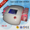 Good Quality Bdiode cavitation shapping lipo laser faradic slimming lipo laser lipo machine for home use
