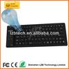 ultra thin portalbe folding silicone wireless keyboard ,Laptop keyboard