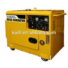 Hot sale! 6.5kw/6.5kva Super Silent Honda Diesel Generator