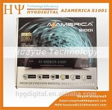 Original Azamerica S1001 Nagra3 Digital Satellite Receptor IKS SKS TV Receiver Satellite Decoder Azamerica S1001 HD