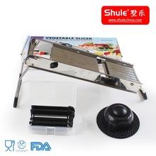 As Seen On TV Slicer Household Stainless Steel Manual Vegetable Dicer Slicer Shredder Chopper Grater