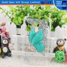 Hot Selling Butterfly Design Diamond Case For Samsung S3 Mini I8190