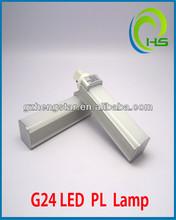 2pin led g24 light bulb Base LED Lamp, PL LED G24 Light high quality ce rhos 4w/6w/8w/10W/12W