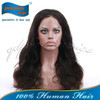 "18"" natural black 3.5""*4"" Brazilian virgin hair silk top full lace wigs"