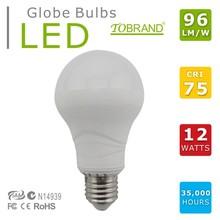 CE RoHs SAA certificate 106lm/w led flame shaped light bulb