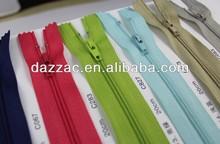 supply stock 3# close-end nylon zipper in cheap price