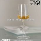 (AS91CD35)350ml Novelty Man Blowing White Wine Goblets!Clear Crystal Colored Glasses!Clear Colored Novelty Wine Glass Goblets
