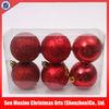 Christmas ball set/ High quality christmas plastic sphere ball