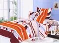 Düşük fiyat 100% polyester mikro fiber 4 adet yatak seti