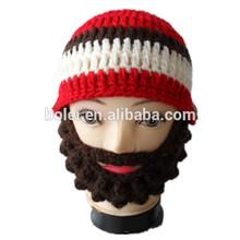 Children's funny crochet santa claus hat