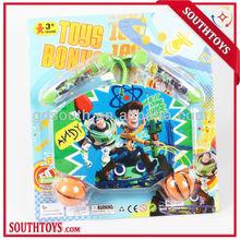 cartoon toy baseketball board set and jumping ropes