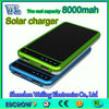 The latest product 8000mah solar power bank /solar charger vg mobile phone