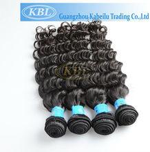 KBL 5a cheap virgin brazilian deep wave hair 100% unprocessed deep wave brazilian human hair