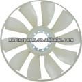 Sinotruk howo piezas del carro de refrigeración aspa del ventilador 660( 8 cuchillas)