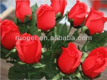 2014 Yiwu Cheapest mini artificial rose flower ornaments