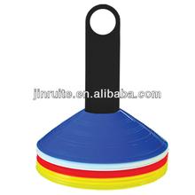 soccer training cone set,colorful maker discs,20pcs or 50pcs makers set on holders